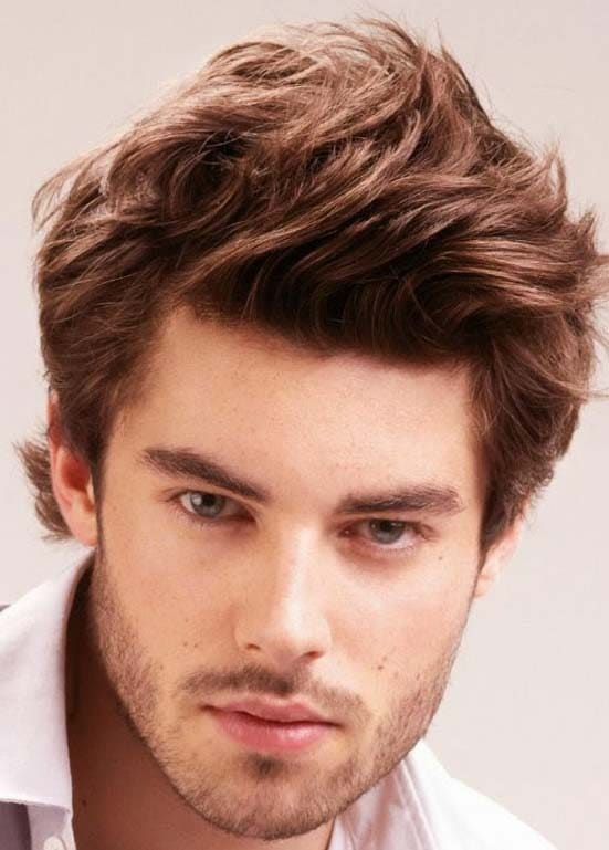 Brit Rock Hairstyles for Men 2018