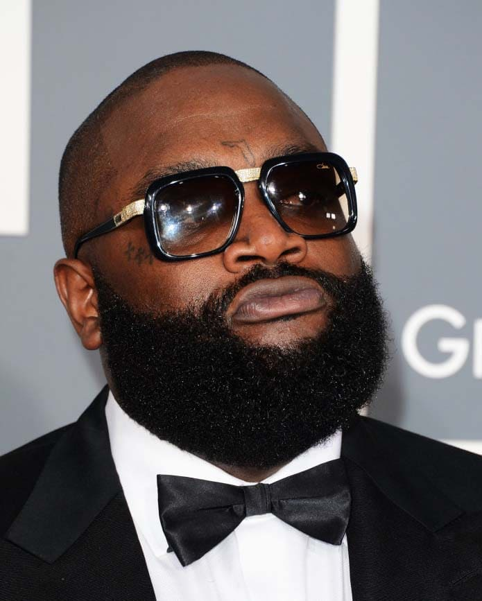 Rick Ross Beard Styles 2018