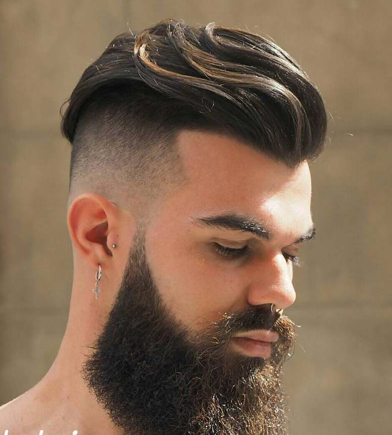Short Undercut Hairstyles for Men 2018
