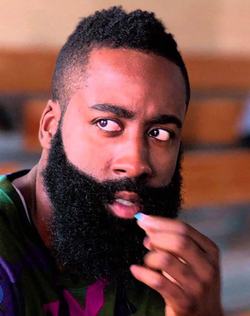 James Harden Beard Styles 2018