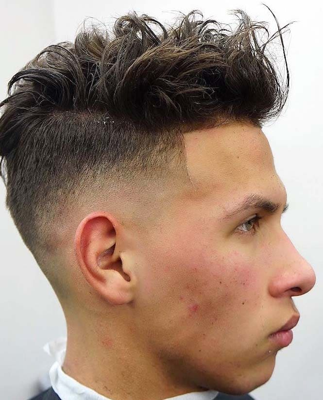 hairstyles for big nose man 2018