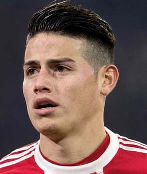 james rodriguez haircuts 2018