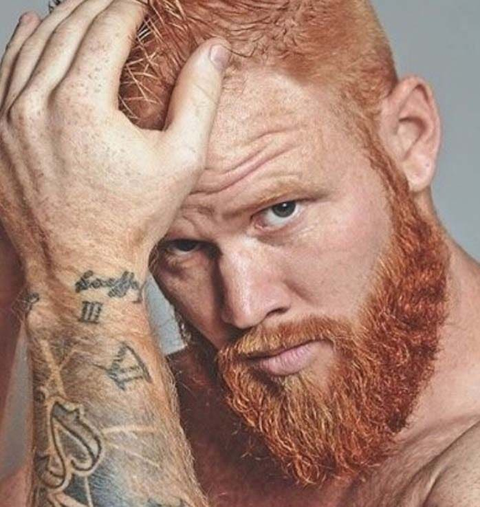 Ginger Beard Styles 2018