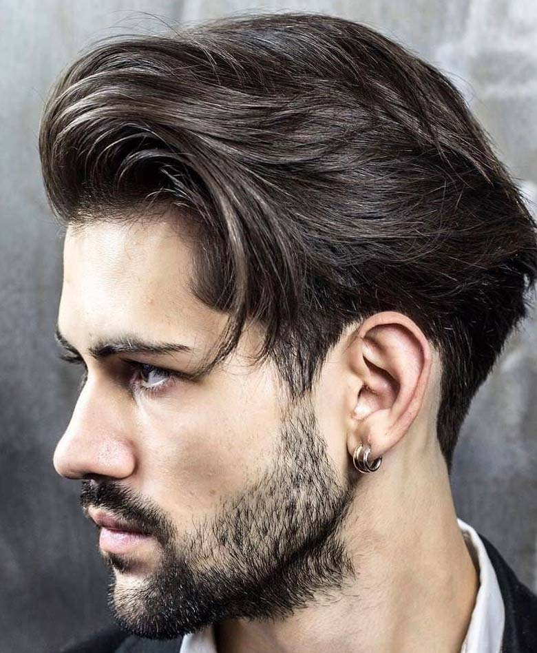 Stylish Medium Length Formal Hairstyles For Men 2018 Men S Haircut