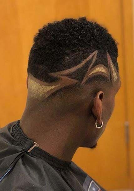 Paul Pogba haircuts 2018