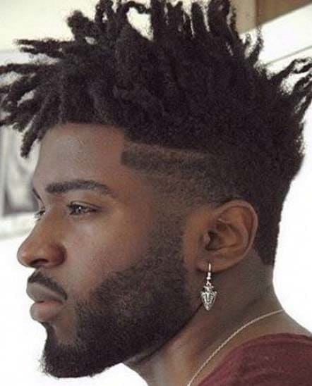 Black Mohawk Hairstyles 2018