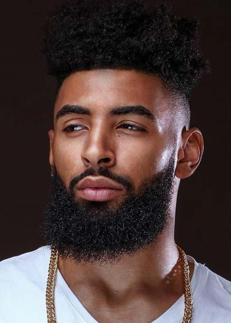 Supreme Beard Styles For Black Guys 2018 Men S Haircut Styles