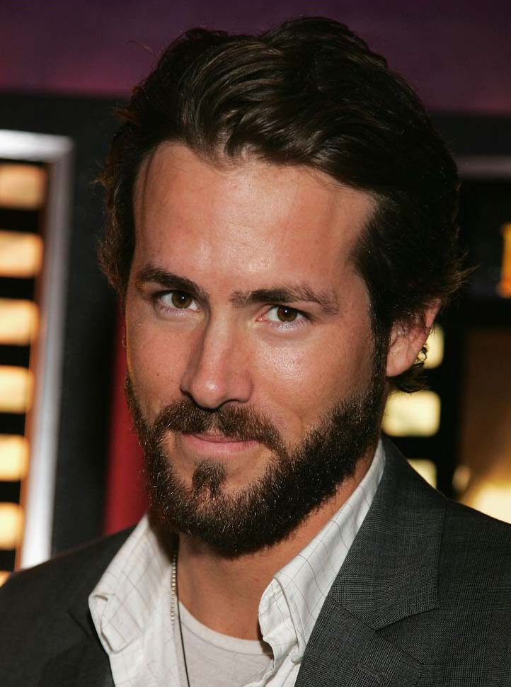 Ryan Reynolds Beard Styles 2018