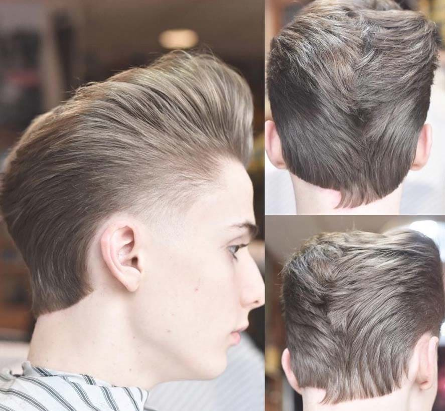 Duck Tail Haircut Images Haircuts 2018 Men Fade