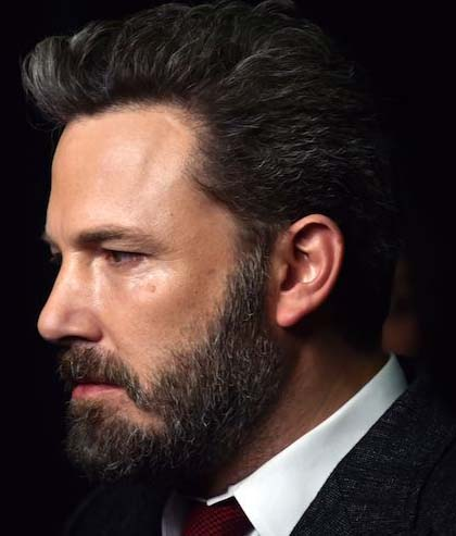 Ben Affleck Beard Styles 2018