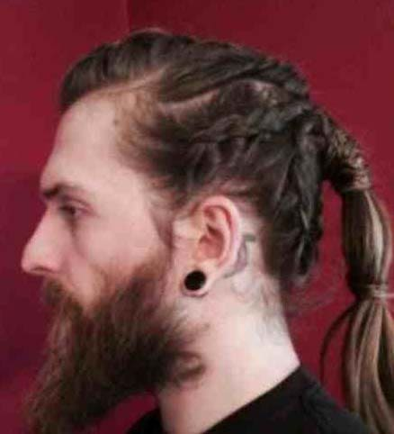 white men with braids 2018