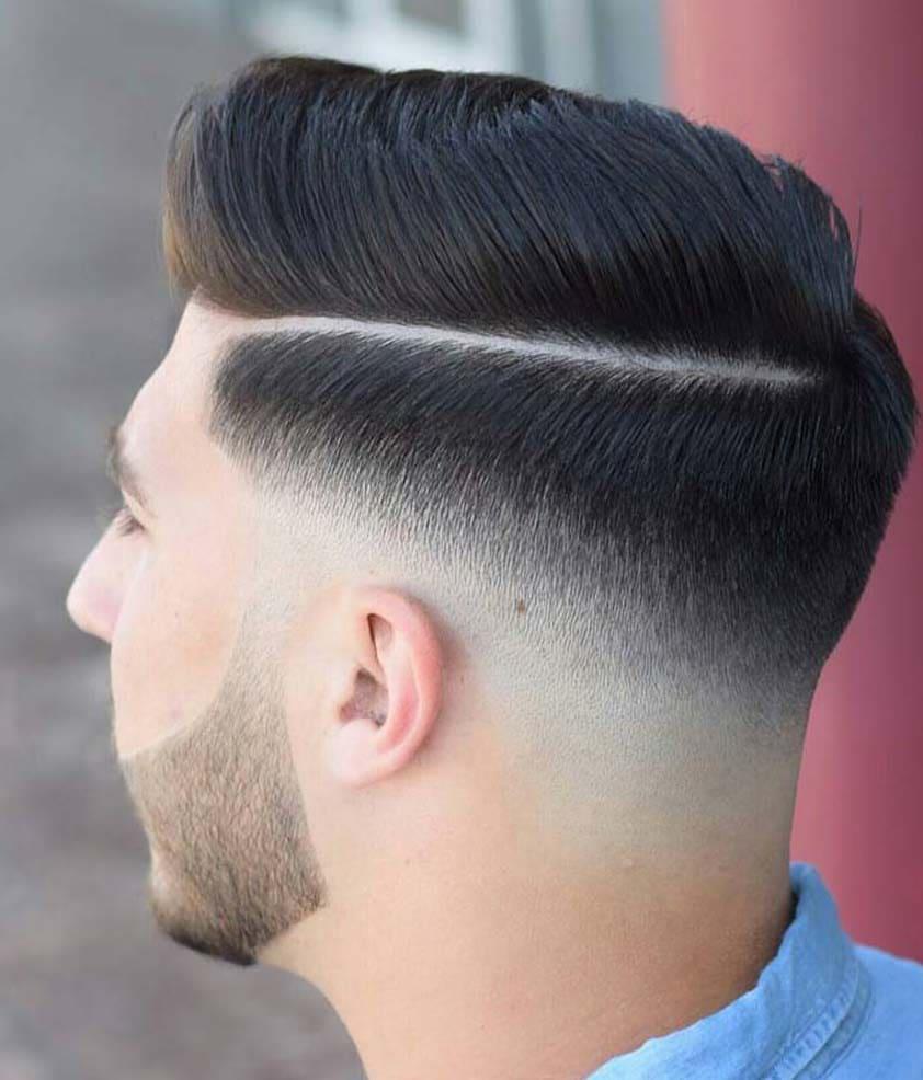 medium skin fade haircuts 2018