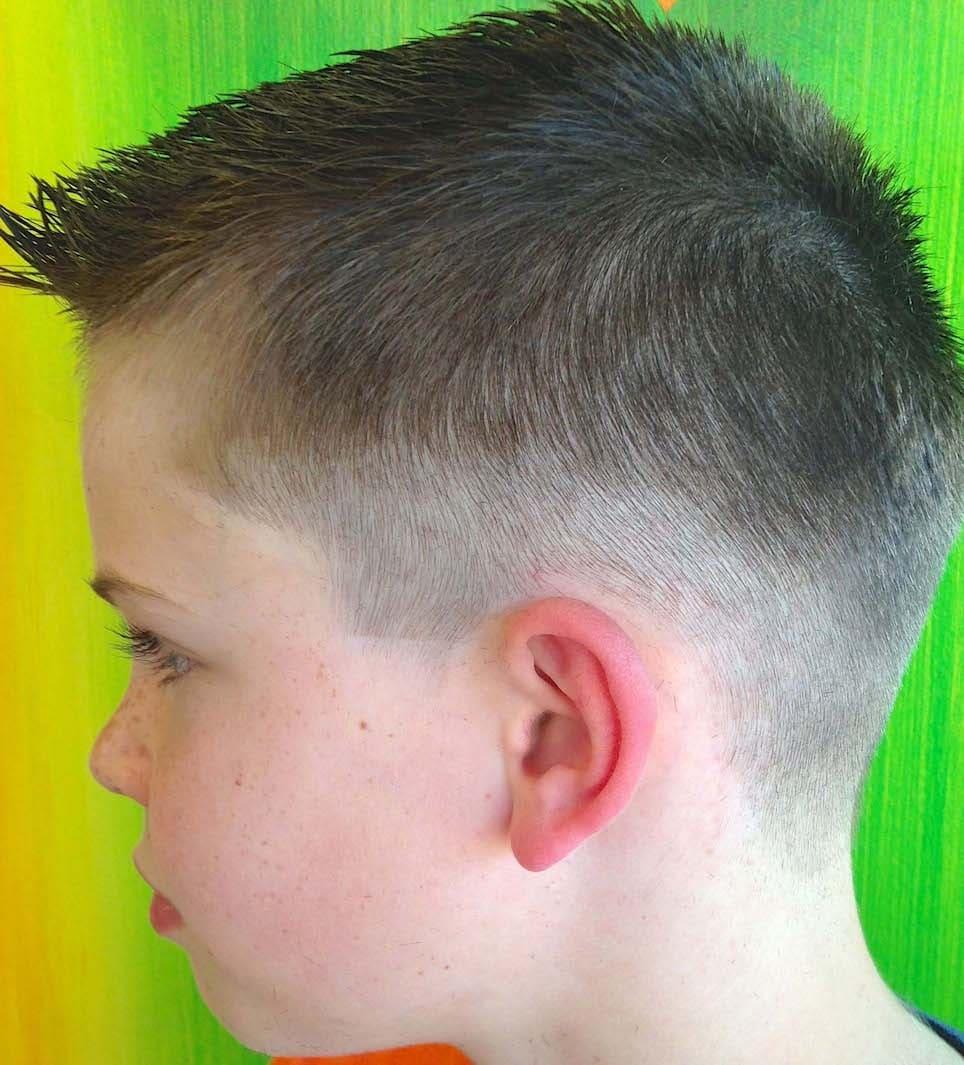 little boys fade haircuts 2018