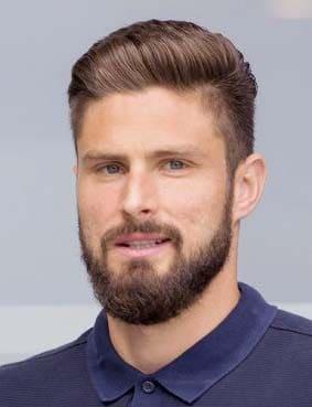 olivier giroud beard styles 2018