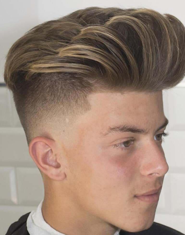 boys fade haircuts 2018