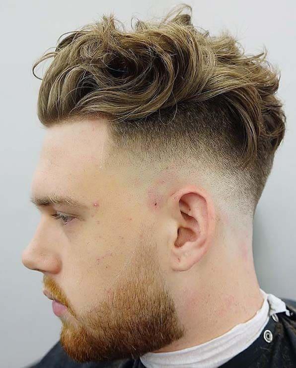 Greatest Long Hair Fade Haircuts 2018 Men S Haircut Styles