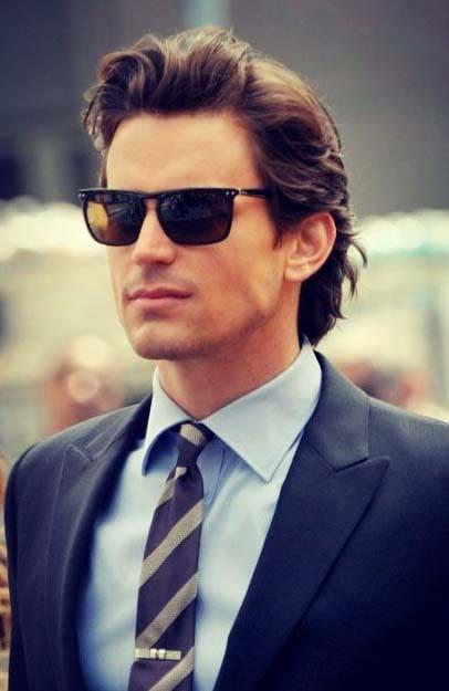 Casual Medium Length Hairstyles for Men