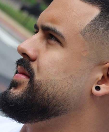 beard fade haircuts 2018