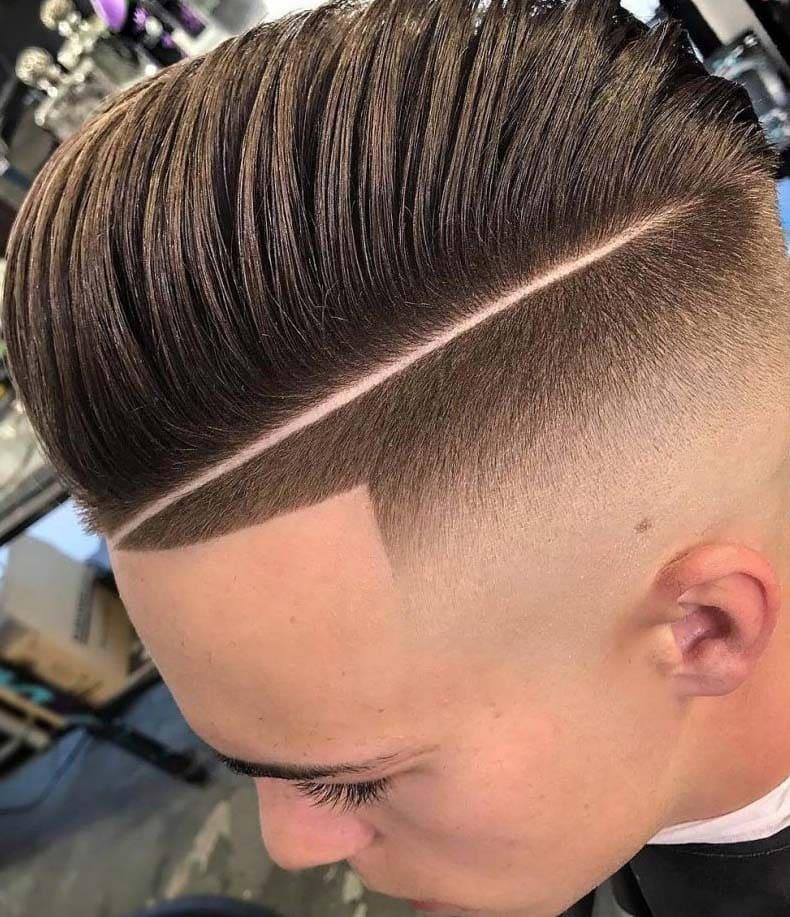 long hair fade haircuts 2018
