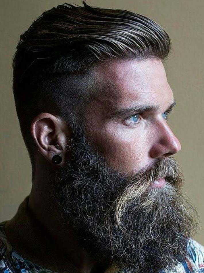 plaited beard styles 2018