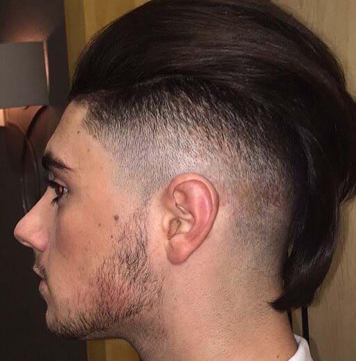 Supreme Long Hair Fade Haircuts 2018 Men S Haircut Styles