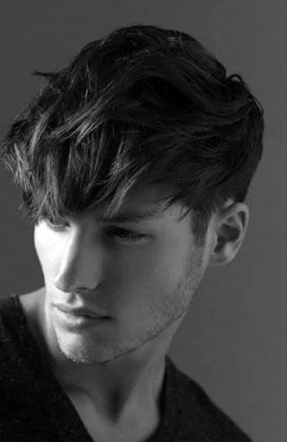 Straight Hairstyles For Men 2018