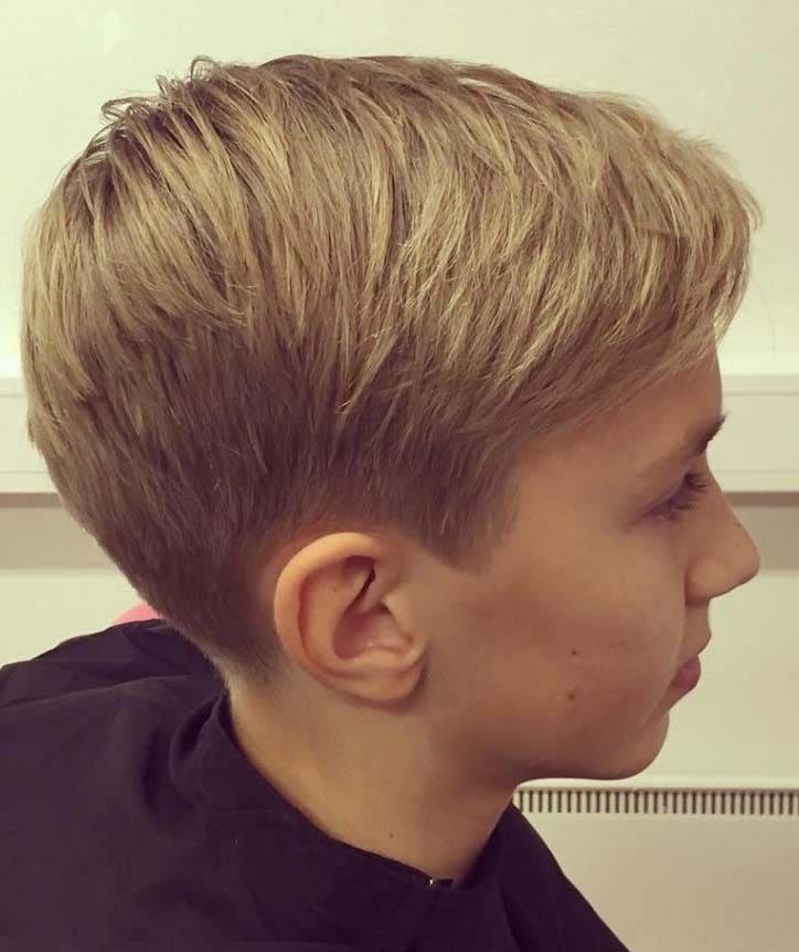 Terrific Little Boys Haircuts For Straight Hair 2018 Mens