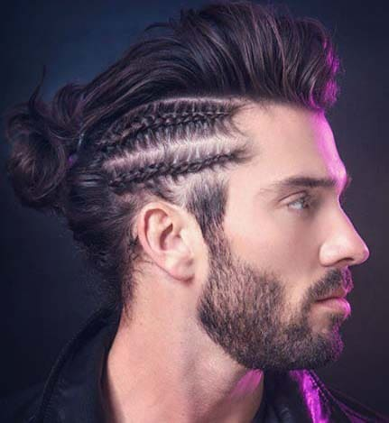 White Men With Braids 2018 Men S Haircut Styles