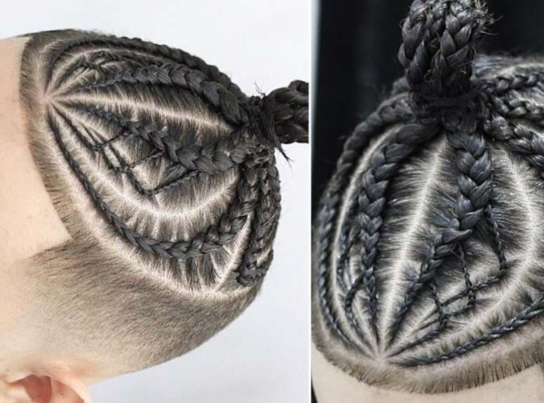 cornrows mens hairstyles 2018