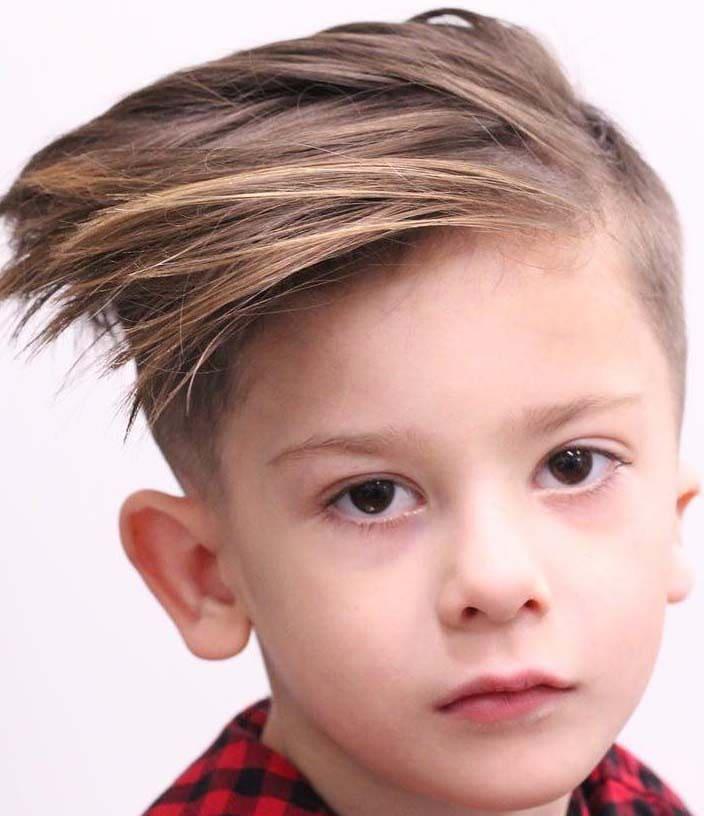 Wonderful Little Boys Haircuts For Straight Hair 2018 Mens