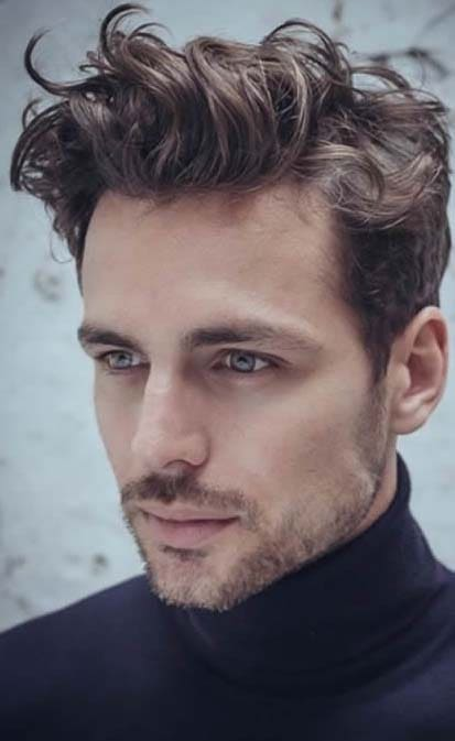 Admirable Curly Quiff Hairstyle 2018 Mens Haircut Styles