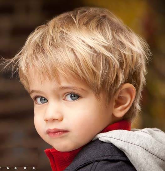 baby boy hairstyles for long hair 2018