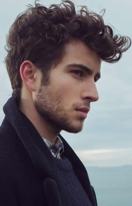 Curly Quiff Hairstyle 2018 Mens Haircut Styles