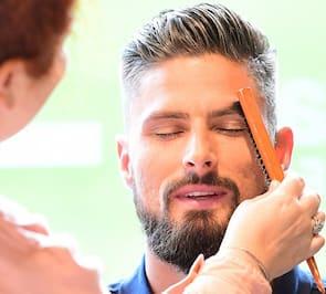 olivier giroud hairstyle with beard 2018