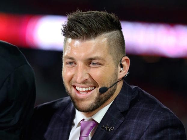 Tim Tebow haircut 2018