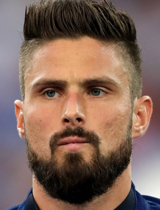 olivier giroud haircut 2019