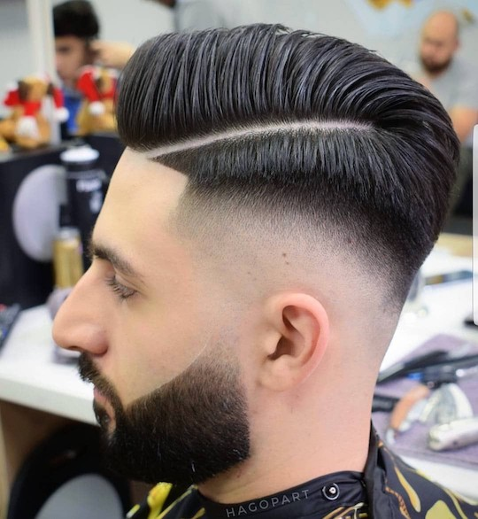 Cool Low Fade Comb Over 2019 Men S Haircut Styles