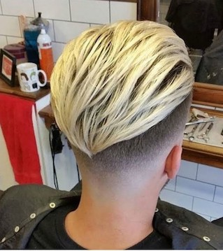 slick back hair for men 2019