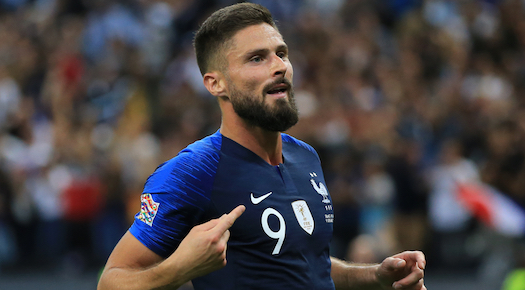 olivier giroud haircut 2019