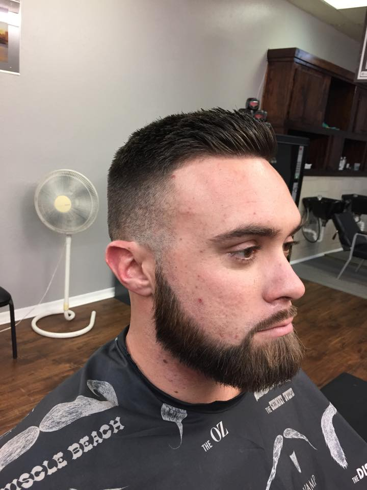 beard fade haircut 2019